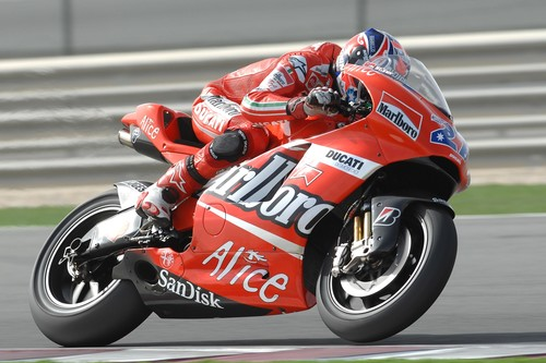 Casey Stoner, Ducati y el papel de piloto probador
