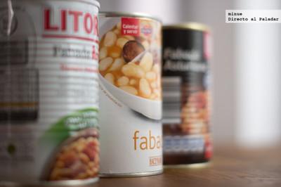 Comparativa de fabadas en lata