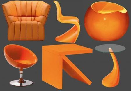 El naranja, ¿un buen color para decorar?