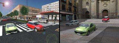 Granada Racer, carreras virtuales por la ciudad de la Alhambra