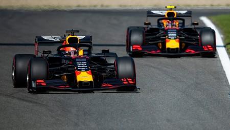 Albon Verstappen Belgica F1 2019