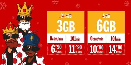 Pepephone aumenta gratis los gigas de sus tarifas más baratas