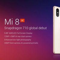 Oferta Flash: Xiaomi Mi8 SE, con 4GB de RAM y 64GB de capacidad, por 275 euros y envío gratis