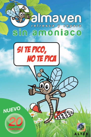 Calmaven: parches sin amoniaco para calmar las molestias provocadas por picaduras de mosquito