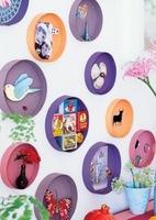Recicladecoración: cajas de queso francés como marcos de adorno