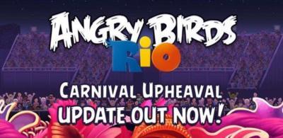 Angry Birds Rio: Carnival Upheaval recibe nuevos niveles