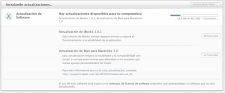 Apple lanza actualización para iBooks y la aplicación Mail en OS X Mavericks
