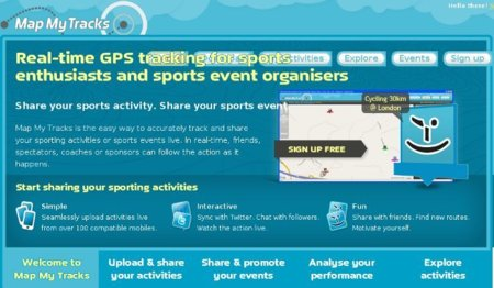 Map My Tracks: para ver y controlar tu entrenamiento online