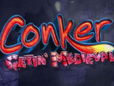 Rare nos muestra un poco de Conker: Gettin' Medieval, un juego cancelado para Xbox