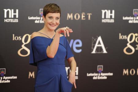 Goya 2013, no fue la noche del cine español, fue la noche de Eva Hache