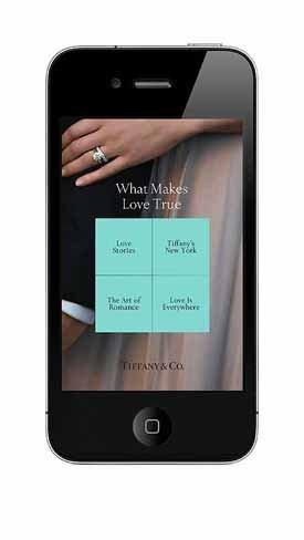 Tiffany & Co. quiere ser la guía romántica del mundo