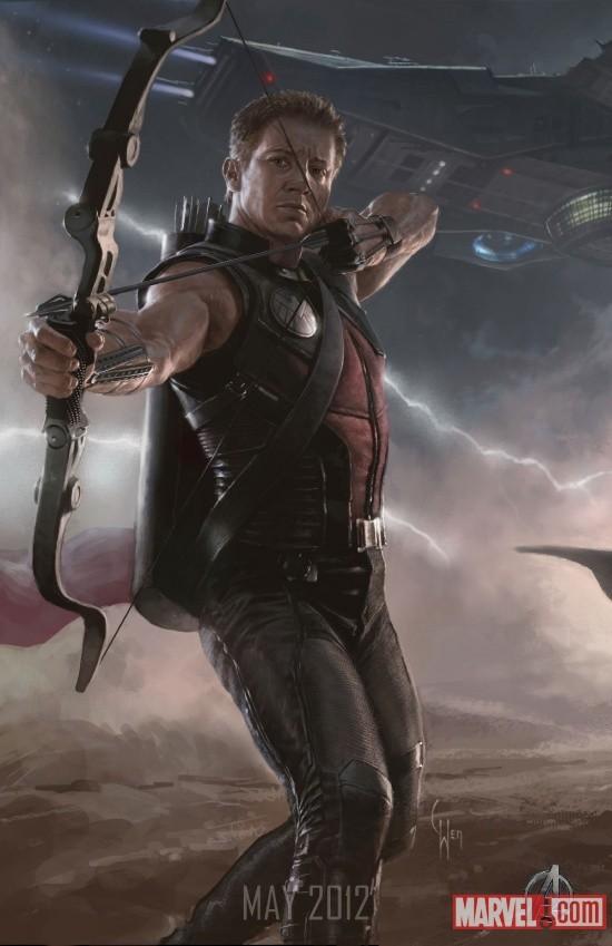 Foto de 'Los Vengadores' ('The Avengers'), teaser póster y dibujos oficiales de los protagonistas (7/9)