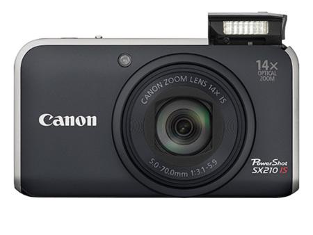 Nueva Canon Powershot SX210IS con vídeo 720p y controles manuales