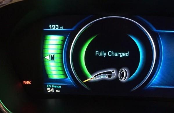 Chevrolet Volt 2016 Cuadro
