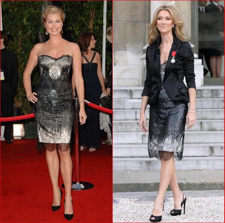 Vestido de Cavalli: ¿Rebecca o Celiné?