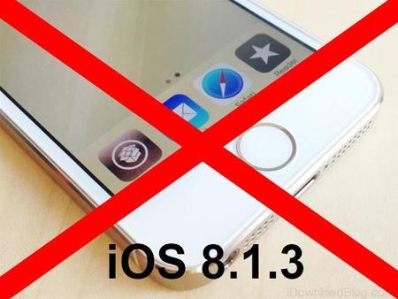 Con iOS 8.1.3 el jailbreak vuelve a ser bloqueado