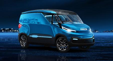 La furgo del futuro según Iveco se llama Iveco Vision