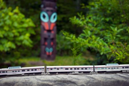 Train Totem Pole