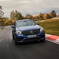 ¡A todo SUV! El Mercedes-AMG GLC 63 S ya es el todocamino más rápido de Nürburgring con un crono de 7:49.369