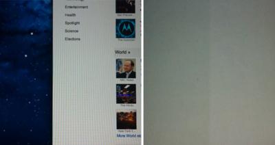 ¿Problemas en las pantalla retina del nuevo MacBook Pro?