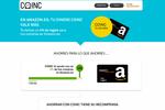 Ahorrar con Coinc ahora tiene más recompensas, un 4% de regalo en Amazon