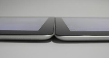 nuevo iPad iPad 2 grosor