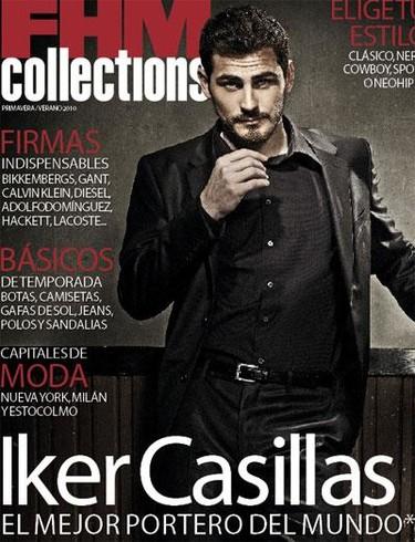 Iker Casillas impresionante en FHM Collections
