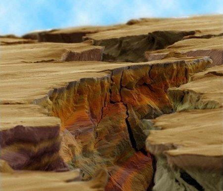 El Gran Cañón del Colorado en miniatura