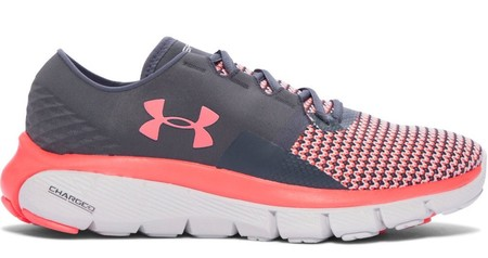 Under Armour Women S Speedform Fortis 2 Running Shoes Internal Stealth Gray 1273954 0086 5 0