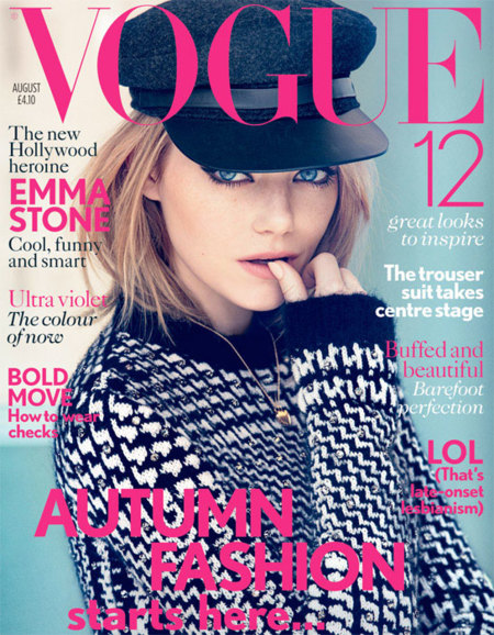 Emma Stone Vogue UK