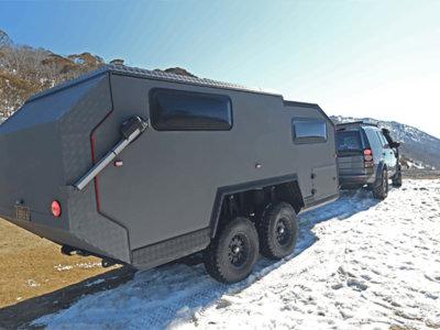 El todoterreno de lujo también existe en las caravanas, la Bruder EXP-6 es la prueba