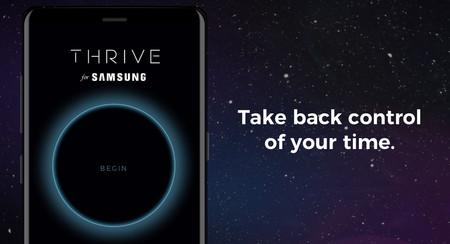 THRIVE for Samsung: una nueva app para que dejes de perder el tiempo con tu móvil y te centres