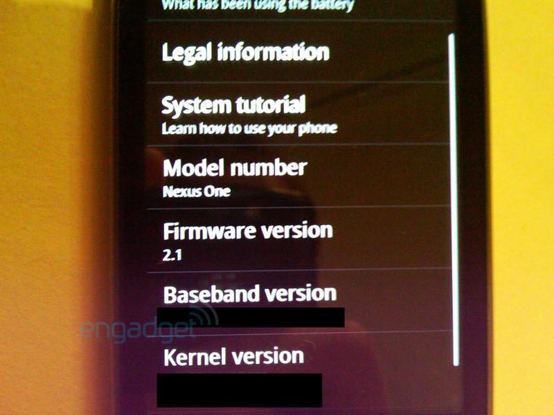 Foto de Nexus One, nuevas imágenes (8/18)