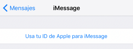 Configurar Imessage Iphone