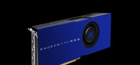 AMD se saca de la manga una tarjeta gráfica con disco SSD integrado: Radeon Pro SSG