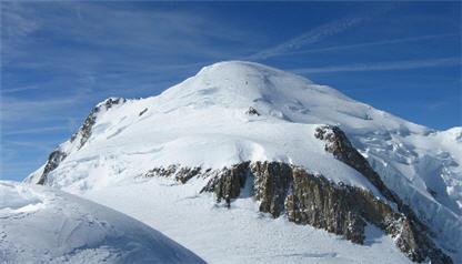 Las nieves del Mont-Blanc