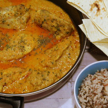 Butterchicken curry, la receta diferente de curry de pollo que te llevará a la India desde el primer bocado