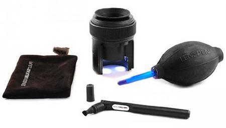 Este es el kit que usa la NASA para limpiar en el espacio los sensores de sus cámaras, y podemos comprarlo
