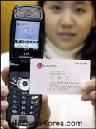 OCR en el  LG-KP3800