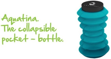 Aquatina, la botella que se recicla sin contaminar
