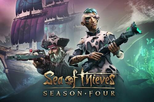 Sea of Thieves te prepara para saquear santuarios, enfrentarte a sirenas y explorar las profundidades del mar en su Temporada 4