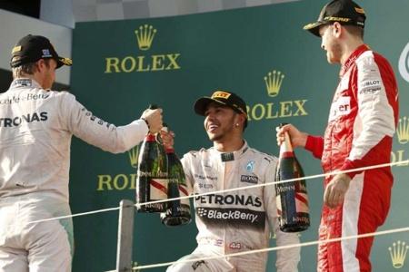 Lewis Hamilton Aus Gp