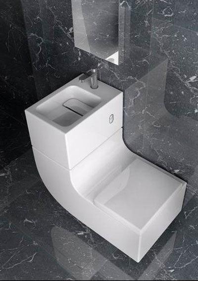 W+W de Roca, inodoro con lavabo incoporado