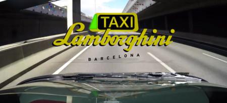 Taxi Lamborghini Barcelona