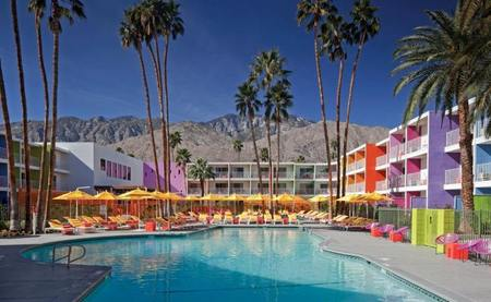 Hotel  The Saguaro: Fin de semana Fluor en Palm Springs