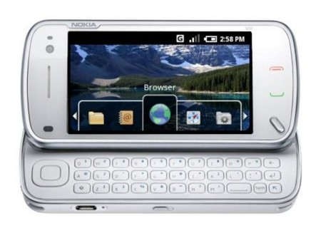 Nokia N97 con Android