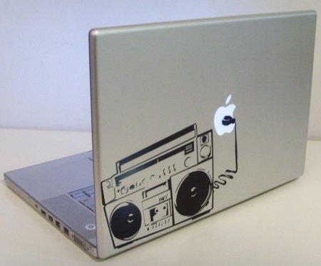 Cinco vinilos de música para tu MacBook. Radio