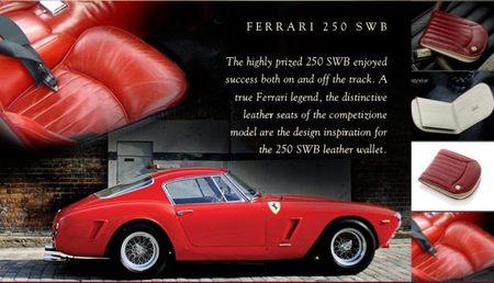 Cartera 250 SWB Rubino de GTO London