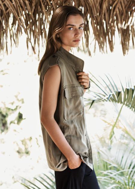 Mango catalogo verano 2014 Andreea Diaconu