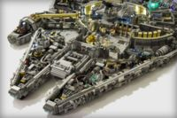 Nunca antes habías visto tanto detalle en una construcción a base de Legos